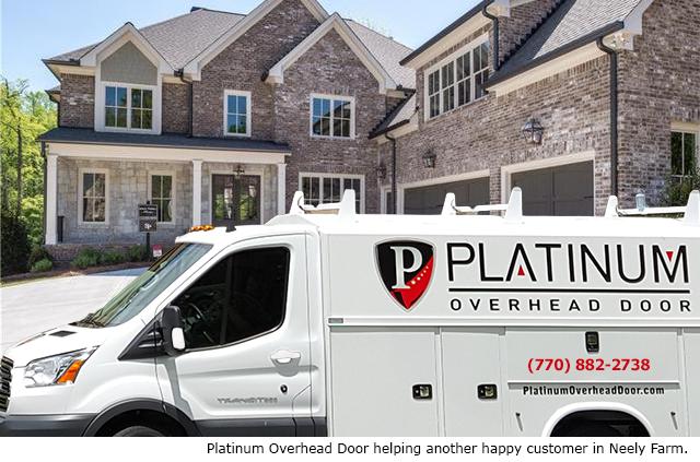 Peachtree corners garage door repair and installation for Platinum garage doors
